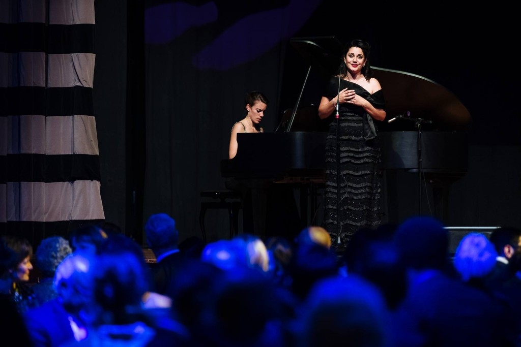 Soprano singer Miriam Khalil and pianist Rachael Kerr Performing for the daughters for life foundation gala dinner 2017,