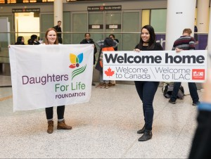 A warm welcome from ILAC team and Daughters for Life Foundation