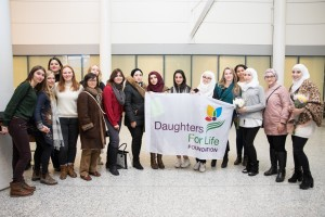 Daughters for life Foundation's team and supporters