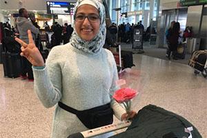Sahar Al Ahmad, scholar from Syria